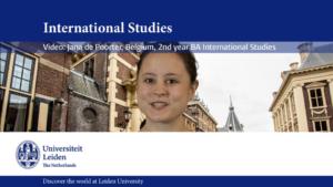 Leiden University Greenscreen Video