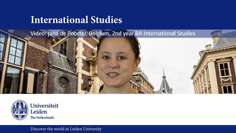 Leiden University Greenscreen Video