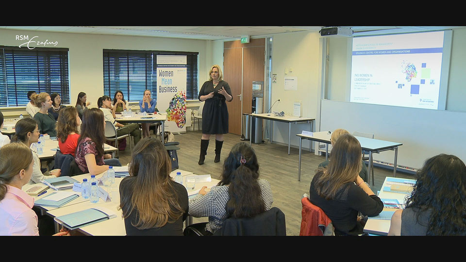 RSM Erasmus Centre for Women and Organisations Video