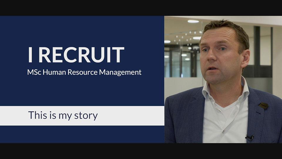 RSM MSc HRM Recruiter Video
