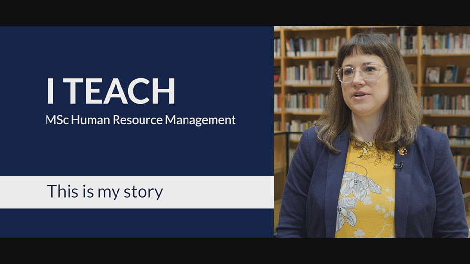 RSM MSc HRM Teacher Video