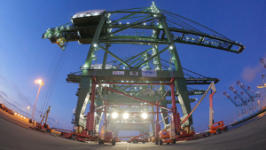 ZPMC Crane Upgrade Timelapse Video